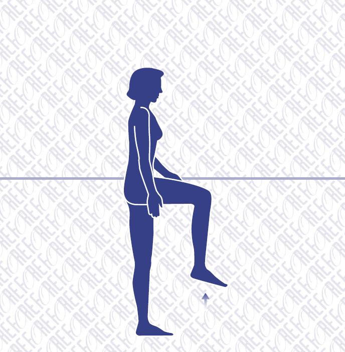 Standing Hip Flexion