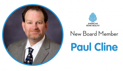 American Bone Health welcomes Paul Cline to its  Board of Directors